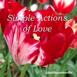Simple actions of love